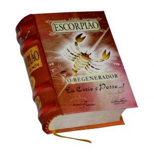 escorpiao miniature book libro