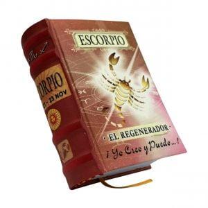 escorpio miniature book libro