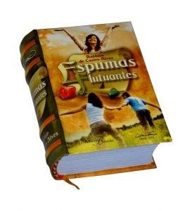 espumas flutuantes miniature book libro