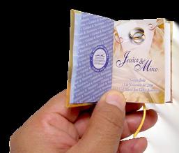 librito dedicatoria minibook